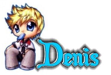 PRENOM D/// DENIS///