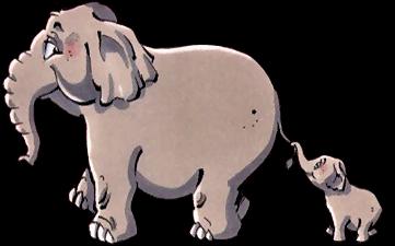Coloriage Famille Elephant.Elephant De Mumu 69